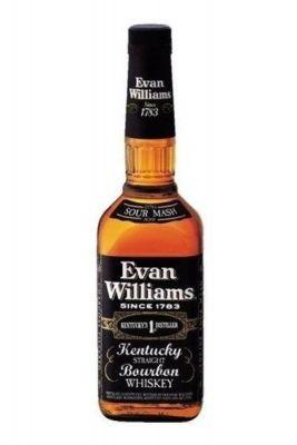Rượu Whisky Mỹ Evan Williams Black
