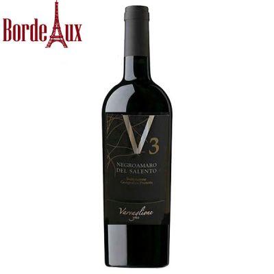 Rượu vang V3 Negroamaro Del Salento
