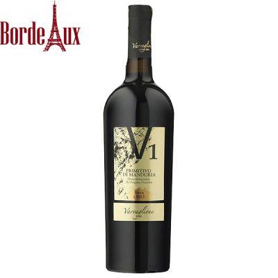 Rượu Vang V1 Primitivo di Manduria DOP