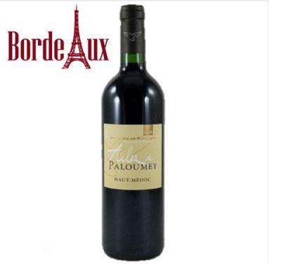 Rượu Vang pháp Haut-Médoc AILES DE PALOUMEY Rouge 2008
