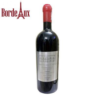 Rượu vang Monte Dei Cocci Primitivo – Vang Ý 16 Độ
