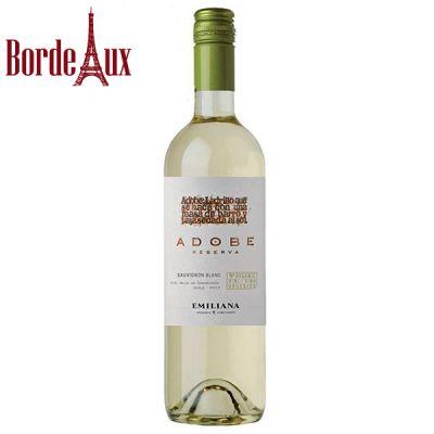 Rượu vang Chile Emiliana Adobe Sauvignon Blanc