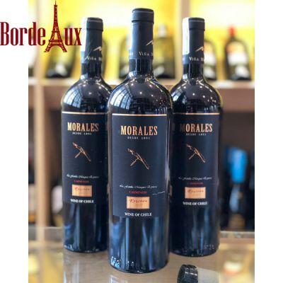 Rượu Vang Chile Morales Reserva - Giá Rẻ