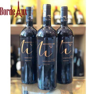 Rượu Vang Mondelar Reserva - Giá Rẻ