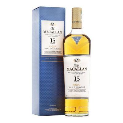 Rượu Macallan 15 năm Triple Cask