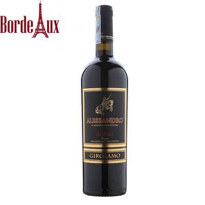 Rượu Vang Alessandro Rosso – Vang Ngọt Giá Rẻ
