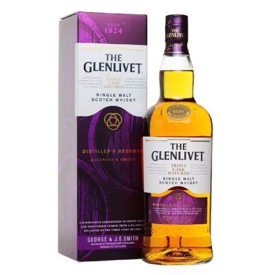 Rượu Glenlivet 1824 Triple Cask (Glenlivet tím)