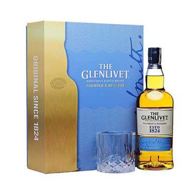 Rượu Glenlivet Founders Reserve Hộp quà tết 2020