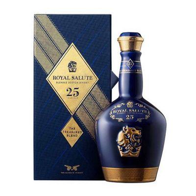 Rượu Royal Salute 25 (Chivas 25 năm) chai sứ 2020
