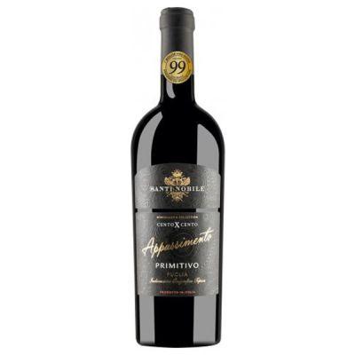 Rượu vang Santi Nobile Cento X Appassimento Primitivo - Vang ý cao Cấp
