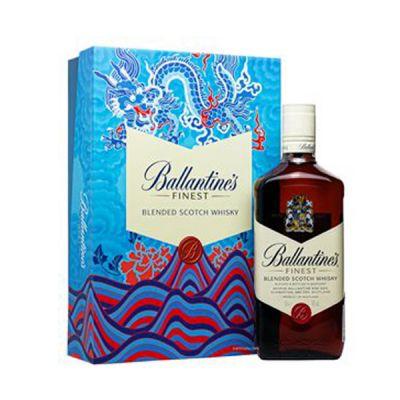 Rượu Ballantine's Finest - Hộp quà tết 2021