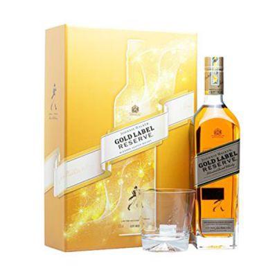 Rượu Johnnie Walker Gold Label Reserve - Hộp quà Tết 2021