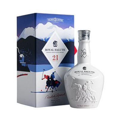 Rượu Royal Salute 21 năm Snow Polo Edition