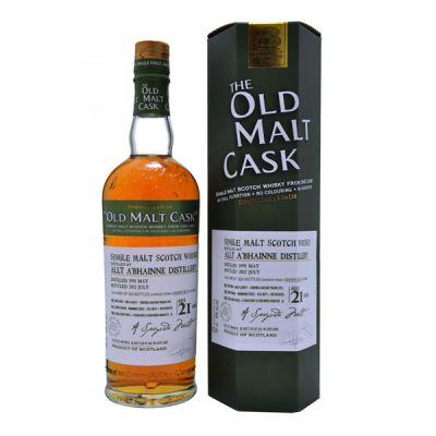 Old malt cask Allt A' Bhainne 21 Years Old, 1991