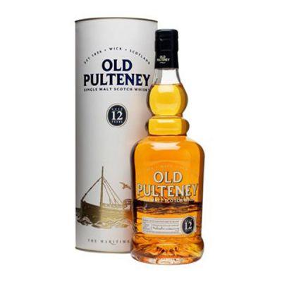 Rượu whisky Single Malt OLD PULTENEY 12 YO