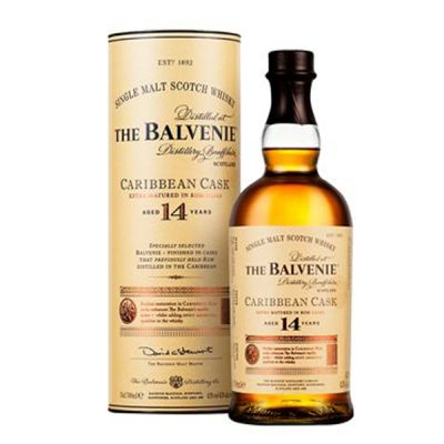 Rượu Balvenie 14 năm Caribbean Cask