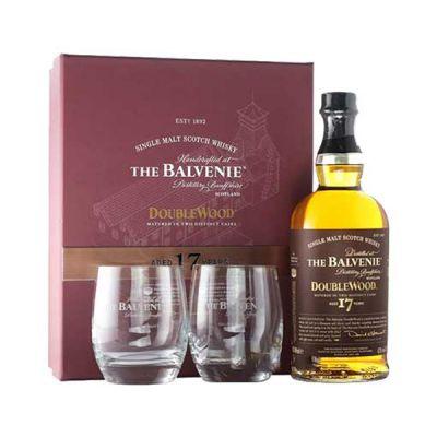 Rượu Balvenie 17 Double Wood hộp quà tết 2020