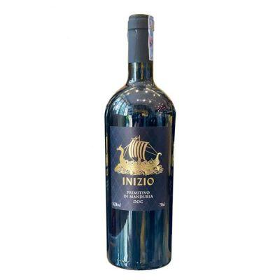 Rượu vang Inizio Primitivo di Manduria 14,5%