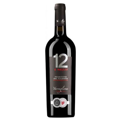 Rượu vang 12 E Mezzo Primitivo hảo hạng