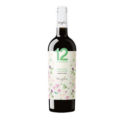 Rượu Vang 12 E Mezzo Primitivo Puglia Organic