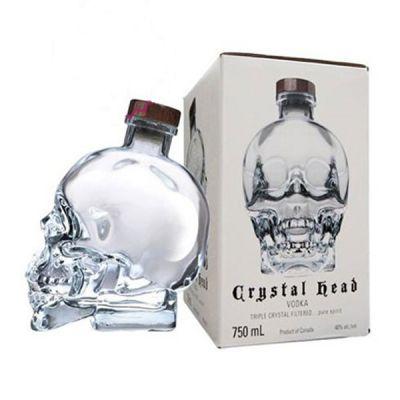 Rượu Vodka Crytal Head 750ml