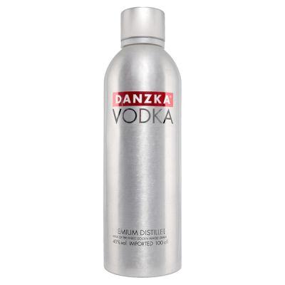 Rượu Vodka Danzka (Vodka Nhôm) 1 Lít