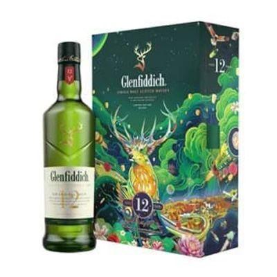 Rượu Glenfiddich 12 năm - Hộp quà tết 2022