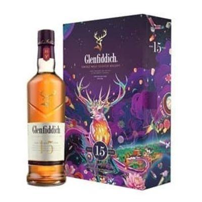 Rượu Glenfiddich 15 năm - Hộp quà tết 2022