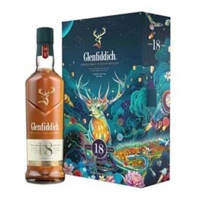 Rượu Glenfiddich 18 năm - Hộp quà tết 2022