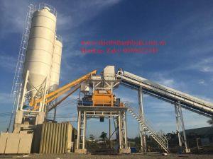 Trạm trộn bê tông thương phẩm Sicoma công suất 120 m3/h