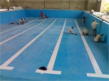 Thi công bể bơi Xuân Mai