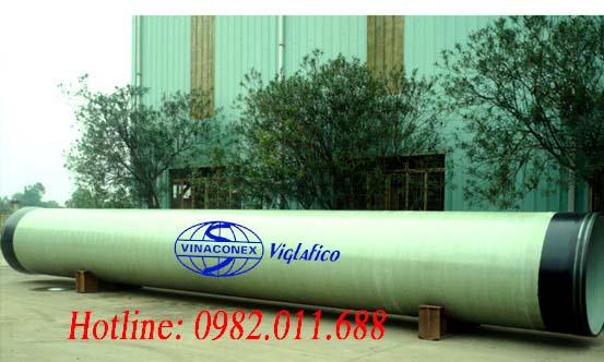 Cung cấp ống và phụ kiện FRP DN1500, DN1600, DN1800 cho Dự án đầu tư xây dựng hệ thống cấp nước chuỗi đô thị Sơn Tây - Hòa lạc - Xuân Mai - Miếu Môn - Hà Nội - Hà Đông