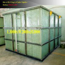 Bồn Vuông L3000xW2500xH2000