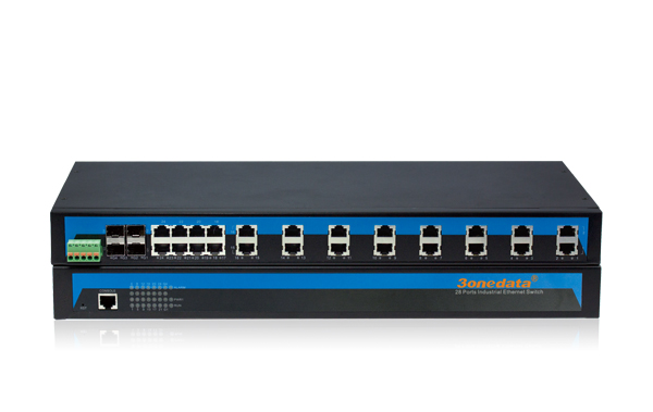 IES5028-4GS(24TP+4GS ports managed Industrial Ethernet Switch)