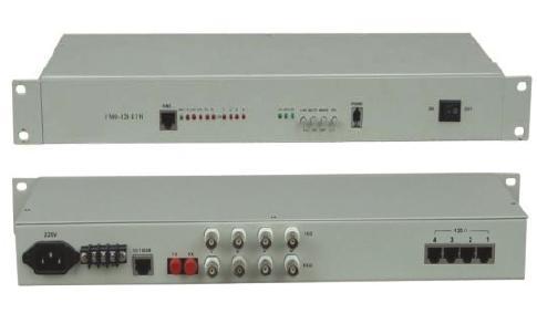 4 x E1 G.703 + Ethernet fiber multiplexer