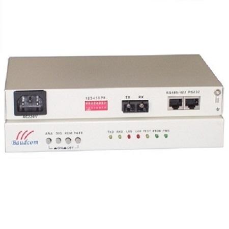 RS485 fiber modem