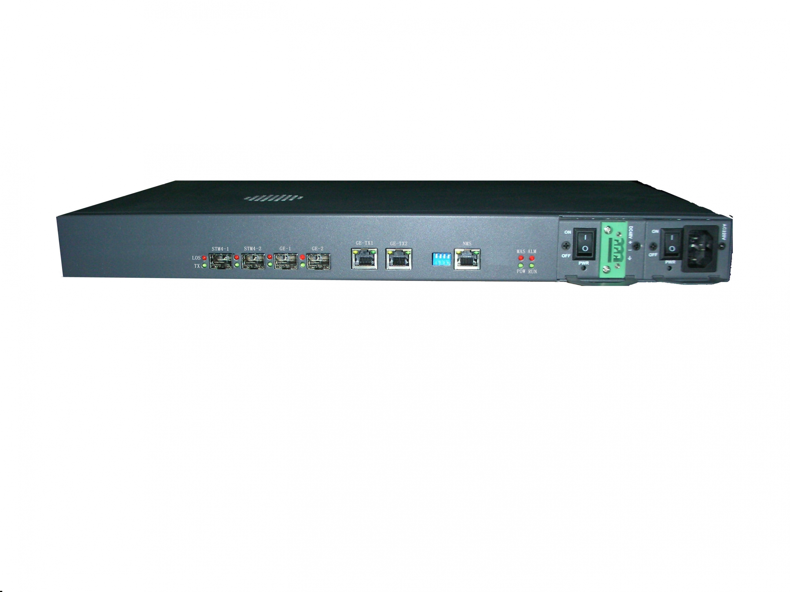 STM-4 to Gigabit Ethernet 10/100/1000 EoS type interface converter