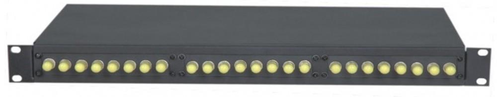 AN-FDB-02-ST24 Type 19′ rack mount optical fiber distribution panel