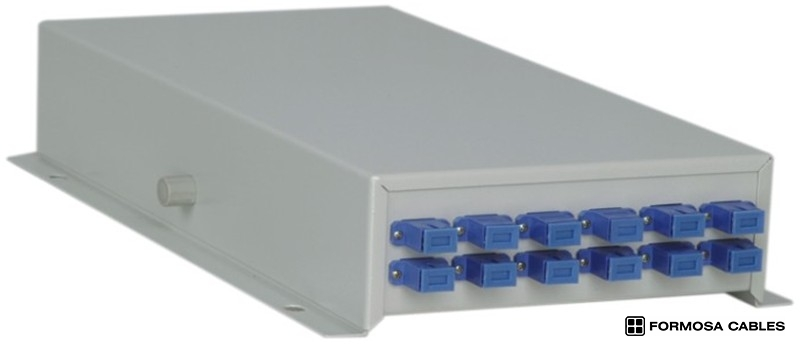 AN-FTB-48A/SC12 Type optical micro termination box for SC adapters