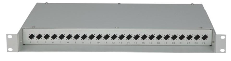 AN-FDB-05-FC/SC24 19′ rack mount fiber optical distribution panel