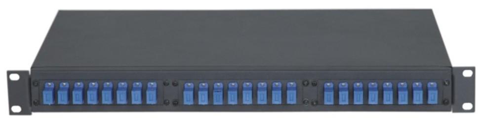 AN-FDB-02-SC24 Type 19′ rack mount optical fiber distribution panel