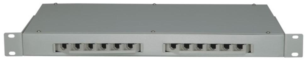AN-FDB-04-12 Type 19′ mount optical fiber distribution box