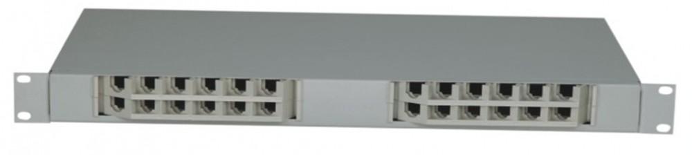 AN-FDB-04-24 19′ rack mount optical fiber distribution box