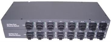 16 Port 10/100Base-Fx optical fiber ethernet switch