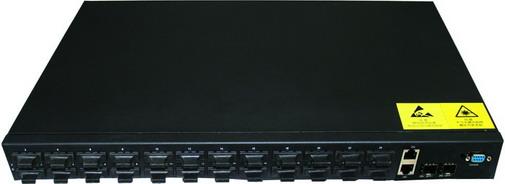 24 Port 10/100Base-Fx Optical fiber ethernet switch