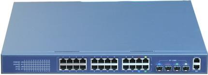 AN-L3-S5024TF 24 Port 10/100/1000 Base-T + 4 Port Gigabit SFP Layer 3 Gigabit Switch