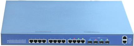 AN-L3-4012TF 12 Port 10/100/1000 Base-T + 4 Port Gigabit SFP Layer 3 Gigabit Switch