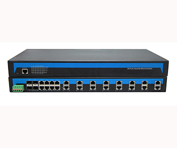 24-port 10/100M Ethernet + 4-port Gigabit (SFP slot) Managed Switch IES1028-4GS