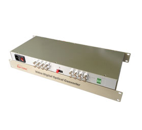 OPT-S16V-T/R Video over Fiber 16 CH video optical transmitter & receiver