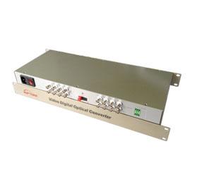 OPT-S16V-T/R Video over Fiber 16 CH video optical transmitter & receiver